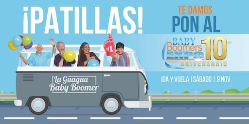 La Guagua Baby Boomer - PATILLAS hacia el Baby Boomers EXPO 2019 (SÁBADO)