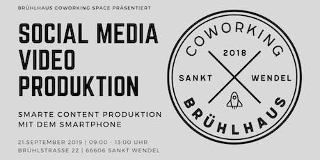 Social Media Video Produktion | Content Produktion mit dem Smartphone Tickets