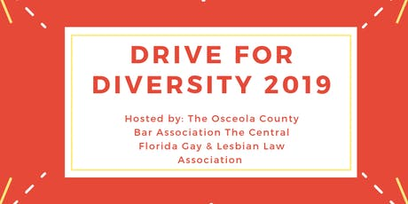 CFGALLA and Osceola County Bar Association: Drive for Diversity! tickets