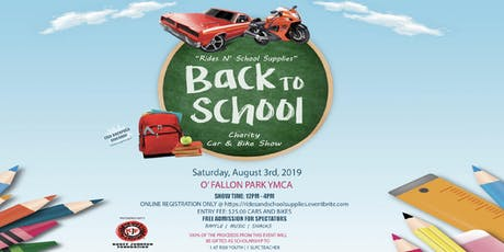 Derrick Walker and Friends Going Back To School Charity Car and Bike Show  tickets