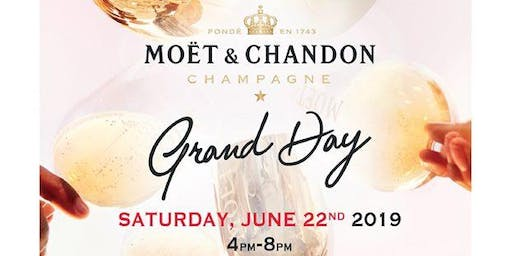 """""""Grand Day"""": Moët & Chandon – White & Gold Party"""