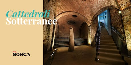 Tour in English  - Bosca Underground Cathedral on 2nd August '19 at 2pm biglietti