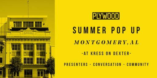 Plywood People x Montgomery Pop-Up