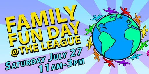 Family Fun Day at The League