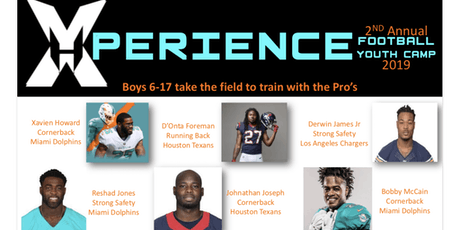 Xavien Howard's 2nd Annual Xperience Football & Youth Camp tickets