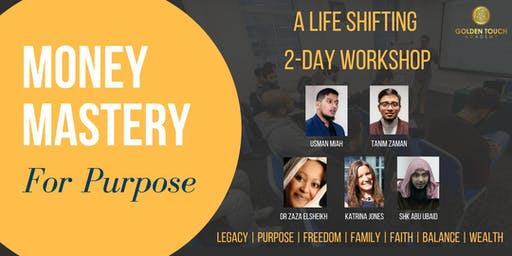 Money Mastery for Purpose - 2 Day Mindset Shifting Experience