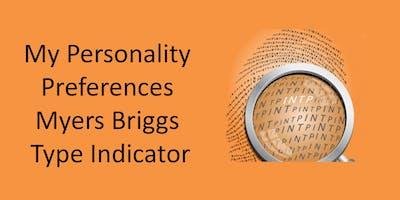 My Personality Preferences MBTI