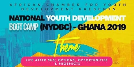 National Youth Development Boot Camp (NYDBC) Ghana 2019 tickets