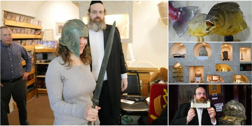Inside The Living Torah Museum: See, Touch, & Wear Archaeological Treasures