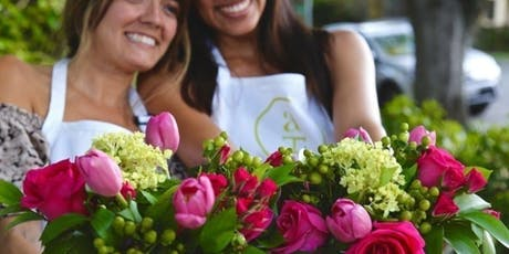 Summer Wine Tasting and Floral Arranging tickets