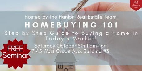 Homebuying 101: A Step by Step Guide to Buying a Home in Today's Market! tickets