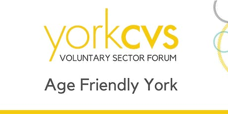 Launch Event of Age Friendly York tickets