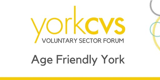 Launch Event of Age Friendly York