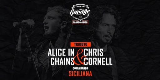 Tributo Alice in Chains & Chris Cornell com a Banda Siciliana