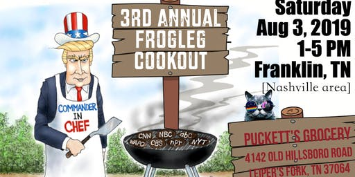 3rd Annual Frogleg Cook-Out