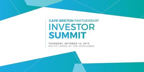 2019 Cape Breton Partnership Investor Summit tickets