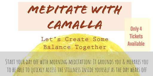 Meditate With Camalla Morning Session