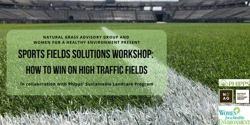 Sports Fields Solutions Workshop: How to Win on High Traffic Fields