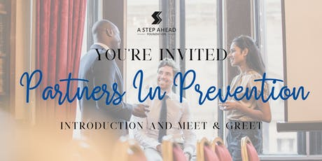 Partners in Prevention Introduction and Meet & Greet tickets