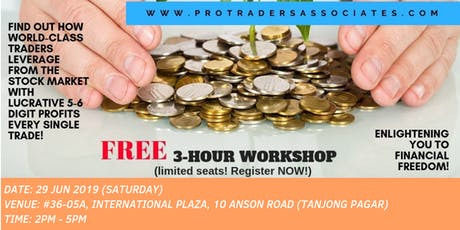 Knowledge to Ultimate Wealth: Trading to Beat the Stock Market in a BULL or BEAR market! (Tanjong Pagar, Singapore) tickets
