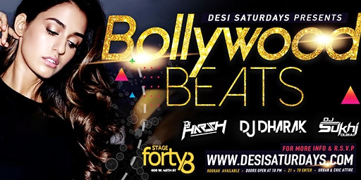Bollywood Saturdays @ Stage48 NYC - A Weekly Saturday Night DesiParty