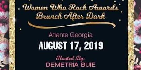 2019 Women Who Rock Awards/Brunch After Dark  tickets