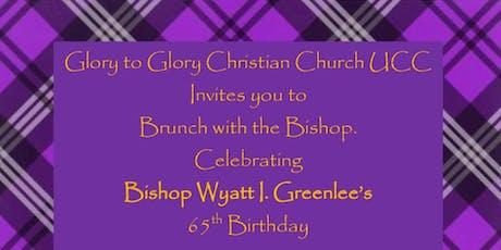 Brunching with Bishop Wyatt I. Greenlee, Jr. tickets
