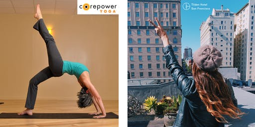 Free Rooftop Yoga at Tilden Hotel