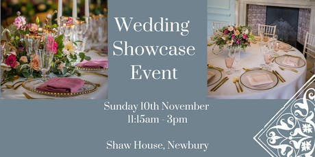 Shaw House Wedding Showcase tickets
