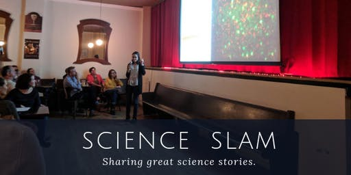 Science Slam at De Kleine Duivel  (hosted by Project Bridge and BUGSS)