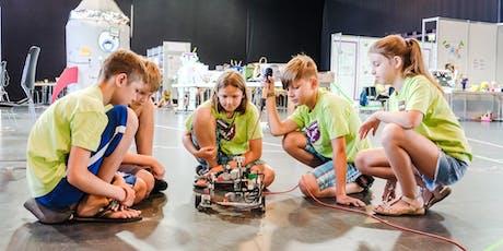 Spielerisch die Zukunft erkunden - Testworkshop für die 4.-6. Klasse! Tickets