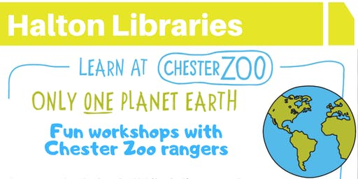 Chester Zoo workshops - Runcorn Library