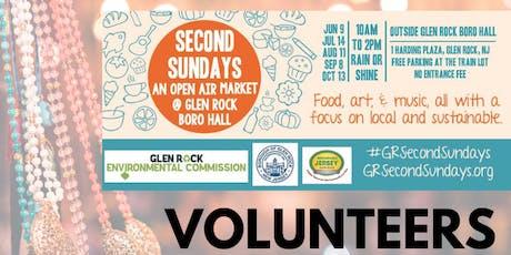 Glen Rock Second Sundays VOLUNTEER tickets
