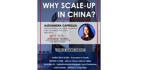 SCALE-UP IN CHINA - opportunities in the world's biggest startup ecosystem tickets