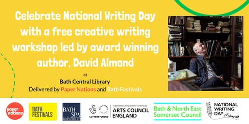 Power of Writing with David Almond