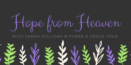 Hope from Heaven with Sarah Milligan tickets