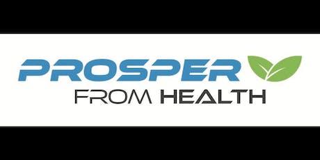 Prosper From Health tickets