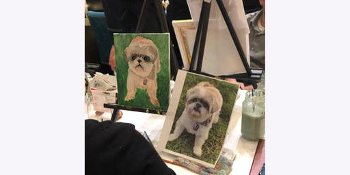 July PAINT YOUR PET - Paint & Sip