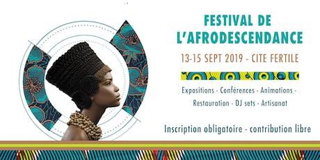 Festival de l'Afrodescendance billets
