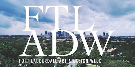 Fort Lauderdale Art & Design Week 2020 tickets
