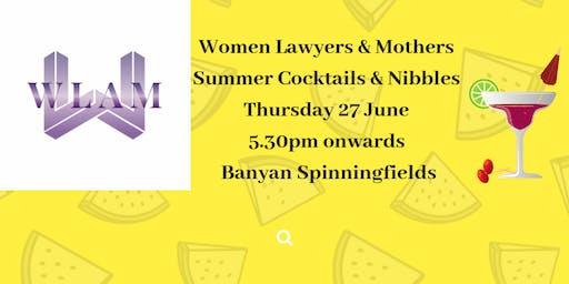 WLAM Summer Cocktails - 27 June - 5.30pm - Banyan Spinningfields