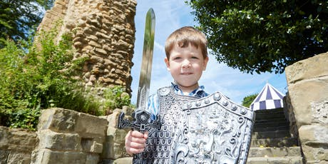 Medieval Sports at Pontefract Castle (Home Educators session) - Thursday 18 July - Ages 5-16 tickets
