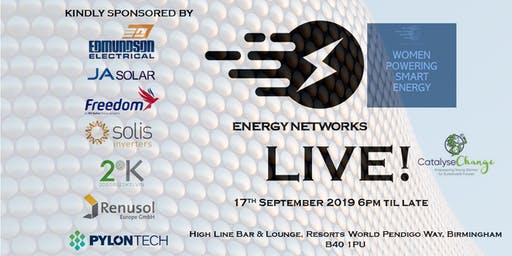 Energy Networks/Women Powering Smart Energy Live!