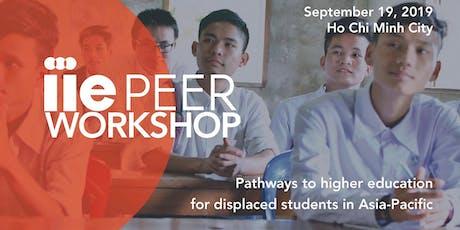 IIE PEER Workshop: Asia-Pacific tickets