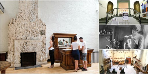 Exploring Gertrude Vanderbilt Whitney's Studio, Original Whitney Museum