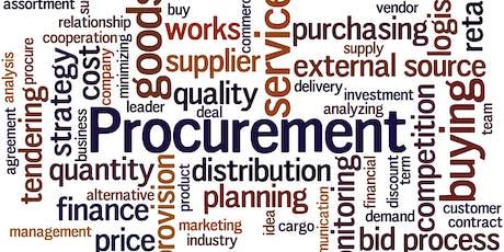 Introduction to procurement Lancashire  tickets