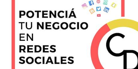 Taller Inicial para Emprendedores -  Potenciá tu Negocio en Redes Sociales tickets
