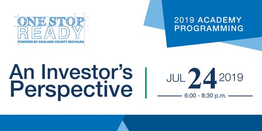 One Stop Ready 2019: An Investor's Perspective