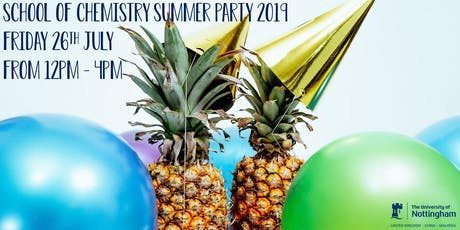School of Chemistry Summer Party tickets