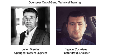 Opengear Out-of-Band Technical Training tickets